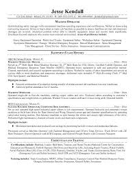 cnc machinist resume samples free forklift driver machinist resume objective