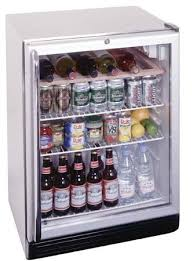summit scr600bl css undercounter glass door refrigerator 24 inches 5 5 cuft front lock white and stainless