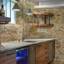 basement remodeling kansas city. Basement - Mid-sized Rustic Concrete Floor And Brown Basement Idea In Kansas  City Remodeling Kansas City