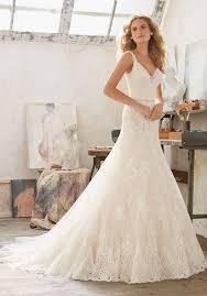 Mori Lee 8122 Texas Wedding Lace