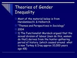 essay gender inequality  essay gender inequality