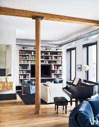 Go Inside Liev Schreiber's NoHo Triplex | Bookshelf's built in ...