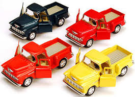 toy cars and trucks. Kinsmart 1955 Chevy Stepside Pickup Truck - Happy Clam Store Toy Cars And Trucks M