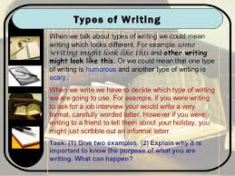 Types of Writing in the Bible SlideShare Types of Writing