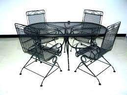 metal patio table and chairs chair sets garden furniture b86