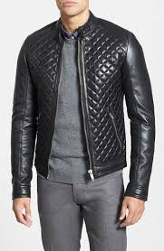 Lamarque Quilted Lambskin Leather Moto Jacket   Where to buy & how ... & ... Lamarque Quilted Lambskin Leather Moto Jacket ... Adamdwight.com