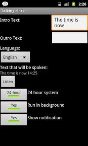 For Apk Talking Download Clock Android 5qaaFXw