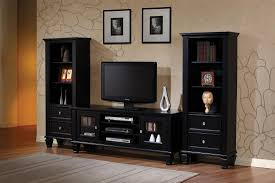 Black Wall Unit Entertainment Centers Best Design Modern Units And Murphy  Furniture Wood Retaining Large Painting