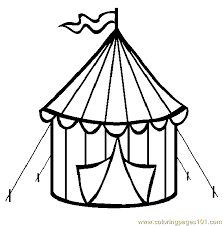 circus tent coloring page free circus animals coloring pages rh coloringpages101 com free circus tent coloring pages circus tent coloring pages printable
