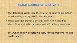 Life Of Pi By Yann Martel Frame Narrative Ppt Video