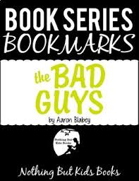 book series bookmarks the bad guys