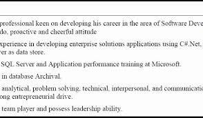 Resume Profile Custom Sample Of Resume Profile Summary Luxury Resume Profile Summary