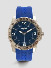 kenneth cole men s smart watches automatic watches leather blue classic round watch