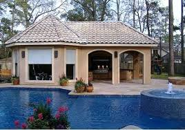 pool house with outdoor kitchen plans. House Plans With Pools And Outdoor Kitchens Pool Kitchen . N