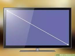 A 32 Inch TV Is Inches 81 Cm From Bottom Left To Top Right Or Right Left