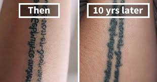 thinking of getting a tattoo these 10 pics reveal how tattoos age over time bored panda