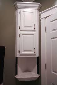 custom bathroom storage cabinets. Modren Storage Custom Recessed Corner Bathroom Storage Cabinet Ideas In Cabinets