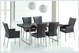 contemporary dining room table outstanding modern dining room furniture design with black wood rectangle dining table