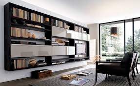 entertainment centers with bookshelves modern entertainment centers black furniture with frosted glass door