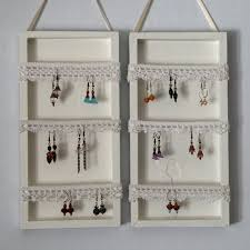 36 Awesome Ideas of DIY Wall Jewelry Organizers