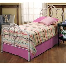 iron rod furniture. Gorgeous Bedroom Design Ideas With White Rod Iron Bed : Entrancing Girl Decoration Furniture C