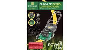 gardenline lawn mower gl 484 sp