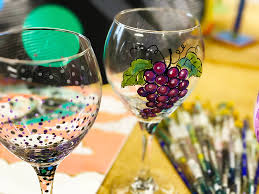 glass painting party
