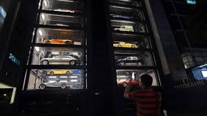 Autobahn Vending Machine Custom Singapore Car 'vending Machine' Dispenses With Tradition GulfNews