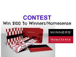 100 winners home sense 100 winners home sense gift card