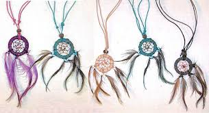 Dream Catchers Wholesale Crafts Wholesale Leather Dream Catcher Necklace with Matching 8