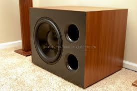 home subwoofer plans cool home theater subwoofer enclosure design contemporary simple