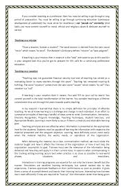 essay of teacher an essay for principles of effective teaching