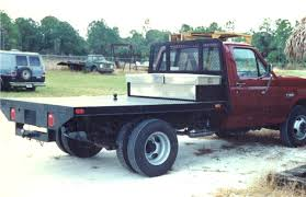 Build Custom Truck Bed 8 X 9 Steel Flatbed Truck Body Home ...