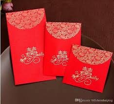 Small Picture 2017 China Traditional Wedding Favor Chinese Red Packet Envelope