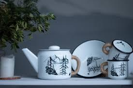 """<b>Набор эмалированной посуды</b> """"Лес и горы"""" в магазине ..."""