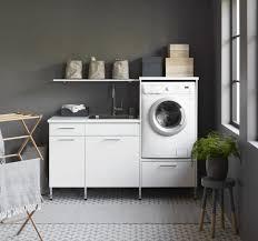 Idée déco buanderie machine à laver machine à laver et sèche linge décoration intérieure décoration maison meuble machine à laver déco maison mobilier de salon idées de meubles informations complémentaires. Meuble Machine A Laver Pour Un Coin Buanderie Pratique