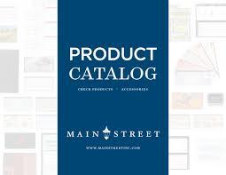 Main Street Inc Product Catalog 2018 By Main Street Inc Issuu