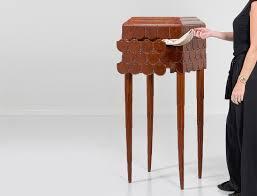 unique pieces of furniture. Exceptional Tortoise Thuja Cabinet By Émile Bernaux, Circa 1930 Unique Pieces Of Furniture