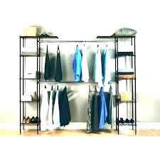 6 shelf hanging closet organizer target rack bed bath beyond free standing clothes bathrooms magnificent
