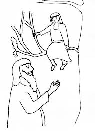 Zacchaeus free coloring pages more. Bible Story Coloring Page Jesus And Zacchaeus Free Bible Stories For Children