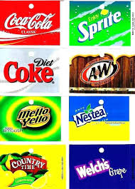 Printable Vending Machine Drink Labels Unique Soda Labels Template Dynaboo