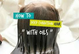 deep condition natural hair at home