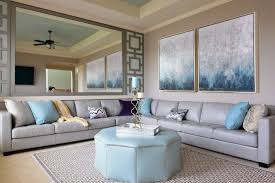 26 Hidden Gem Living Rooms With Ceiling Fans PICTURESSilver And Blue Living Room