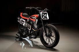 harley davidson introduces its first new pro flat track bike in 44