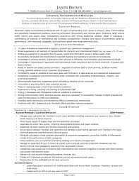 Logistics Manager Resume Template Resume For Your Job Application