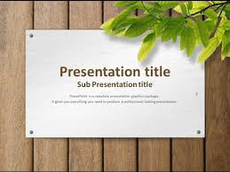 Animated Ppt Presentation Nature Animated Ppt Template Youtube
