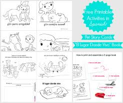 printable books for kids free story cards book printable in spanishspanglishba printable for coloring