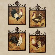 rooster wall decor for kitchen
