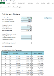 Get Your Free Microsoft Excel 2013 Mortgage Calculator