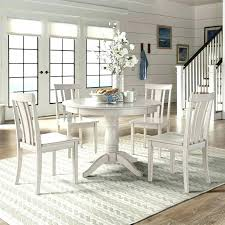 white round table set off white dining room sets dining room table with white chairs white
